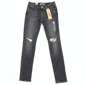 NWT Levi's Distressed 711 Skinny Jeans size 26